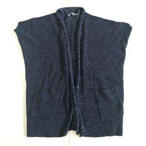 Athleta Women's XXS XS  Blue Sleeveless Cable Knit